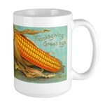 Corny Thanksgiving Large Mug