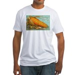 Corny Thanksgiving Fitted T-Shirt
