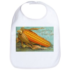 Corny Thanksgiving Bib