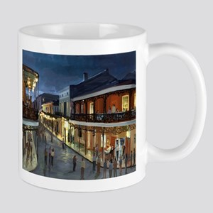 BourbonStreetNightime Mugs