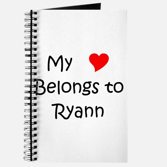 Cool Ryann Journal