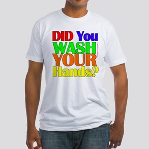 Washed Hands? (Colours) Fitted T-Shirt