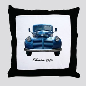 1946 Classic Pickup Throw Pillow