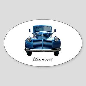 1946 Classic Pickup Sticker (Oval)