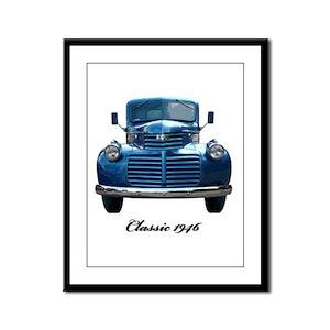 1946 Classic Pickup Framed Panel Print