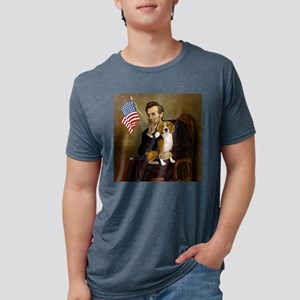 Lincoln's Beagle Ash Grey T-Shirt