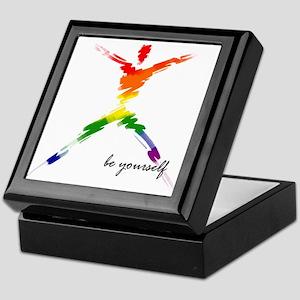 Gay Pride - Be Yourself Keepsake Box