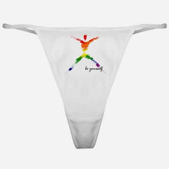 Gay Pride - Be Yourself Classic Thong