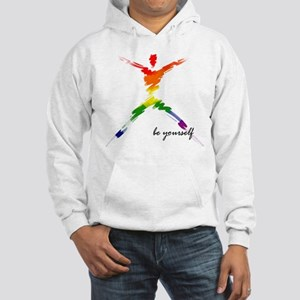 Gay Pride - Be Yourself Hooded Sweatshirt