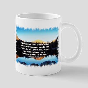 Seek His Will Mug