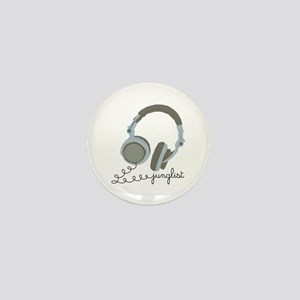 Junglist Headphones Mini Button