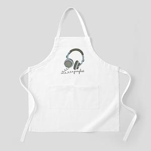 Junglist Headphones BBQ Apron