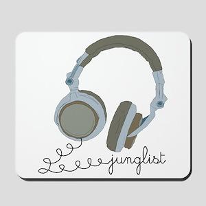 Junglist Headphones Mousepad