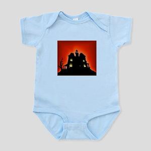 Haunted House Infant Bodysuit
