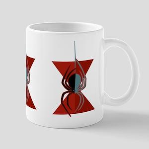 Red Hourglass Spider Mug