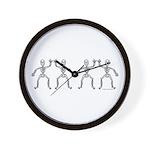 ILY SkelDance Wall Clock