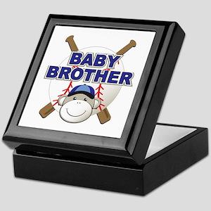Baby Brother Baseball Keepsake Box