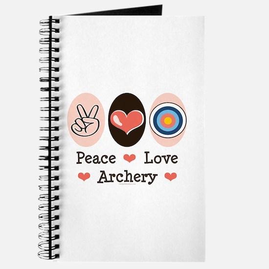Peace Love Archery Journal