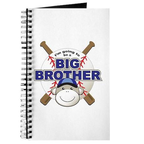 Big Brother To Be Baseball Journal
