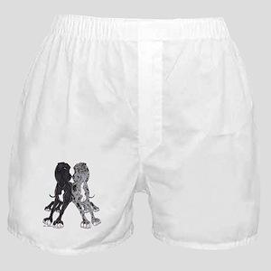 NBlkW NMrlW Lean Boxer Shorts
