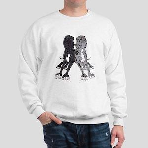 NBlkW NMrlW Lean Sweatshirt