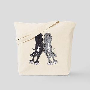NBlkW NMrlW Lean Tote Bag