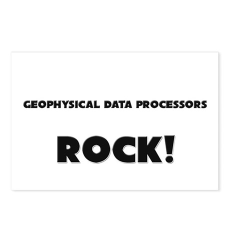 Geophysical Data Processors ROCK Postcards (Packag