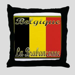 La Brabancanne Throw Pillow