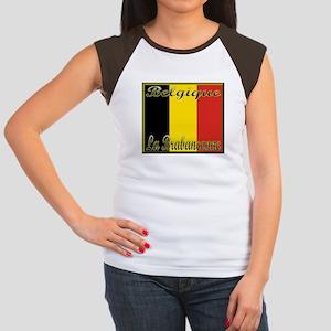 La Brabancanne Women's Cap Sleeve T-Shirt