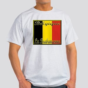 La Brabancanne Ash Grey T-Shirt