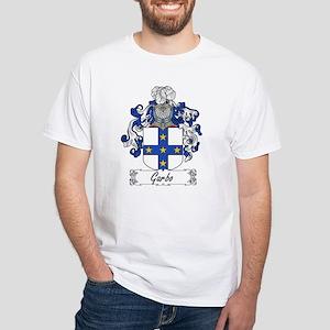 Garbo Family Crest White T-Shirt