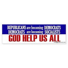 God Help Us All - Bumper Bumper Sticker