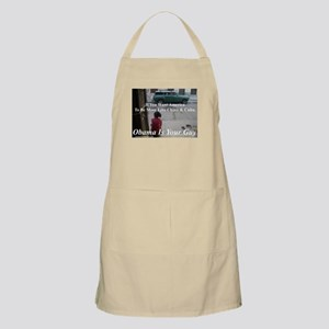 """""""Obama Is Your Guy?"""" BBQ Apron"""