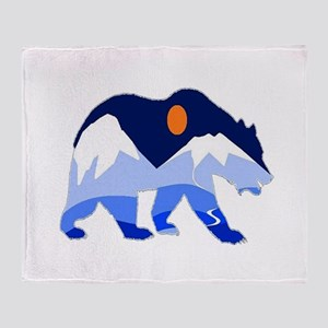 BEAR Throw Blanket