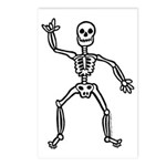 ILY Skeleton Postcards (Package of 8)