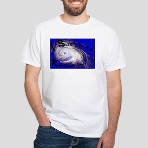 I Survived Katrina White T-Shirt