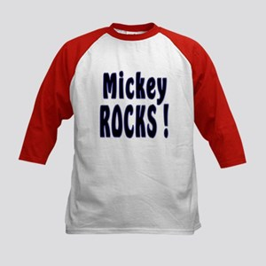Mickey Rocks ! Kids Baseball Jersey