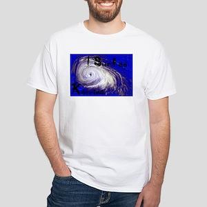I Surfed Katrina White T-Shirt