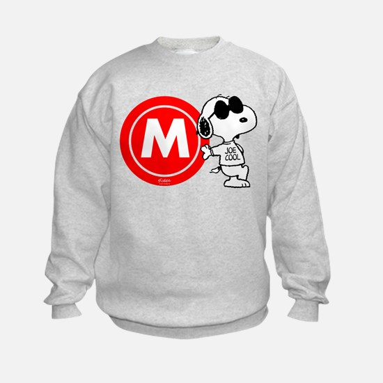 Joe Cool Monogram Sweatshirt