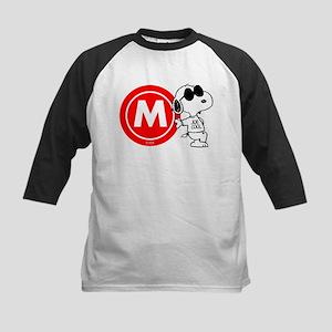 Joe Cool Monogram Kids Baseball Jersey