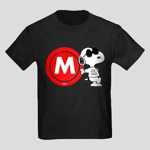 Joe Cool Monogram Kids Dark T-Shirt