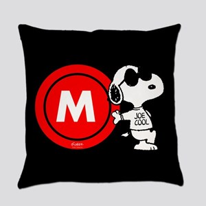 Joe Cool Monogram Everyday Pillow