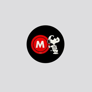 Joe Cool Monogram Mini Button