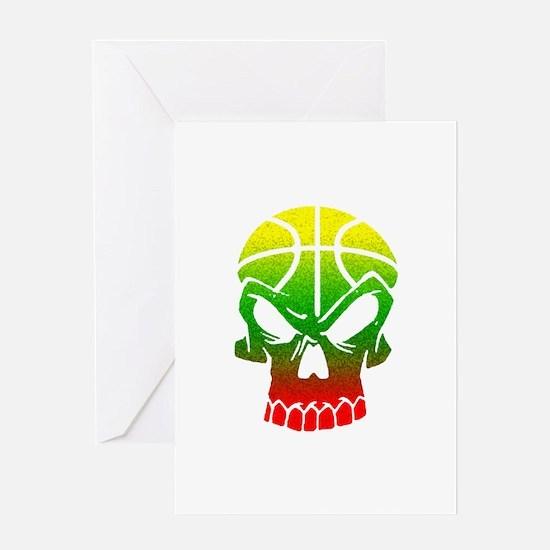 LT Skull Baller Greeting Card