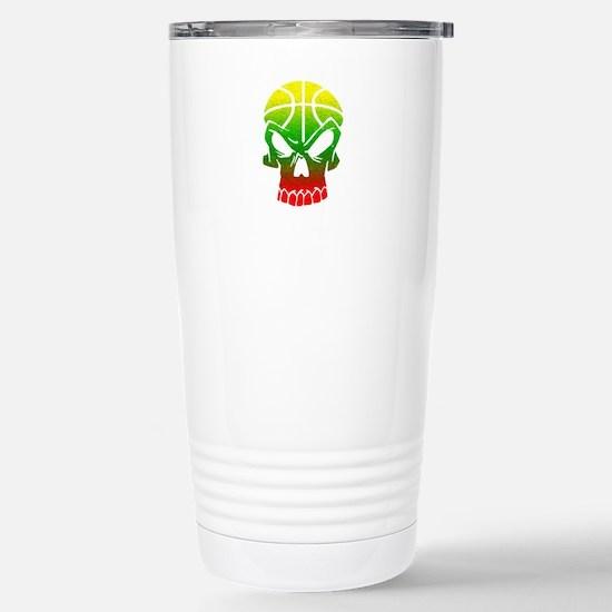 LT Skull Baller Stainless Steel Travel Mug