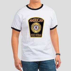 American Police Veterans Patc Ringer T