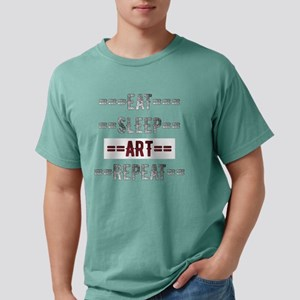 Eat Sleep Art Repeat Gift for Artists T-Shirt