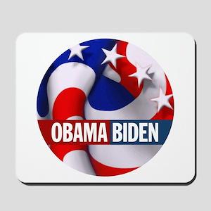 Obama-Biden Stripes & Stars Mousepad