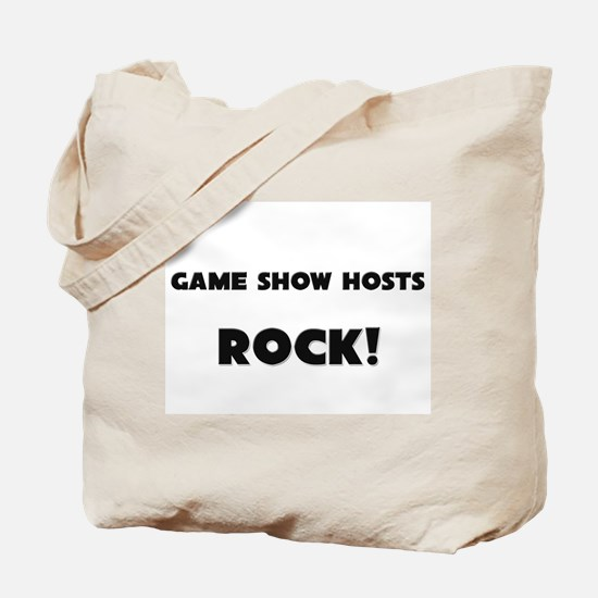 Game Show Hosts ROCK Tote Bag