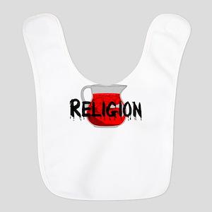 Religion Brainwashing Drink Polyester Baby Bib